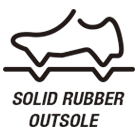 Solid Rubber Outsole