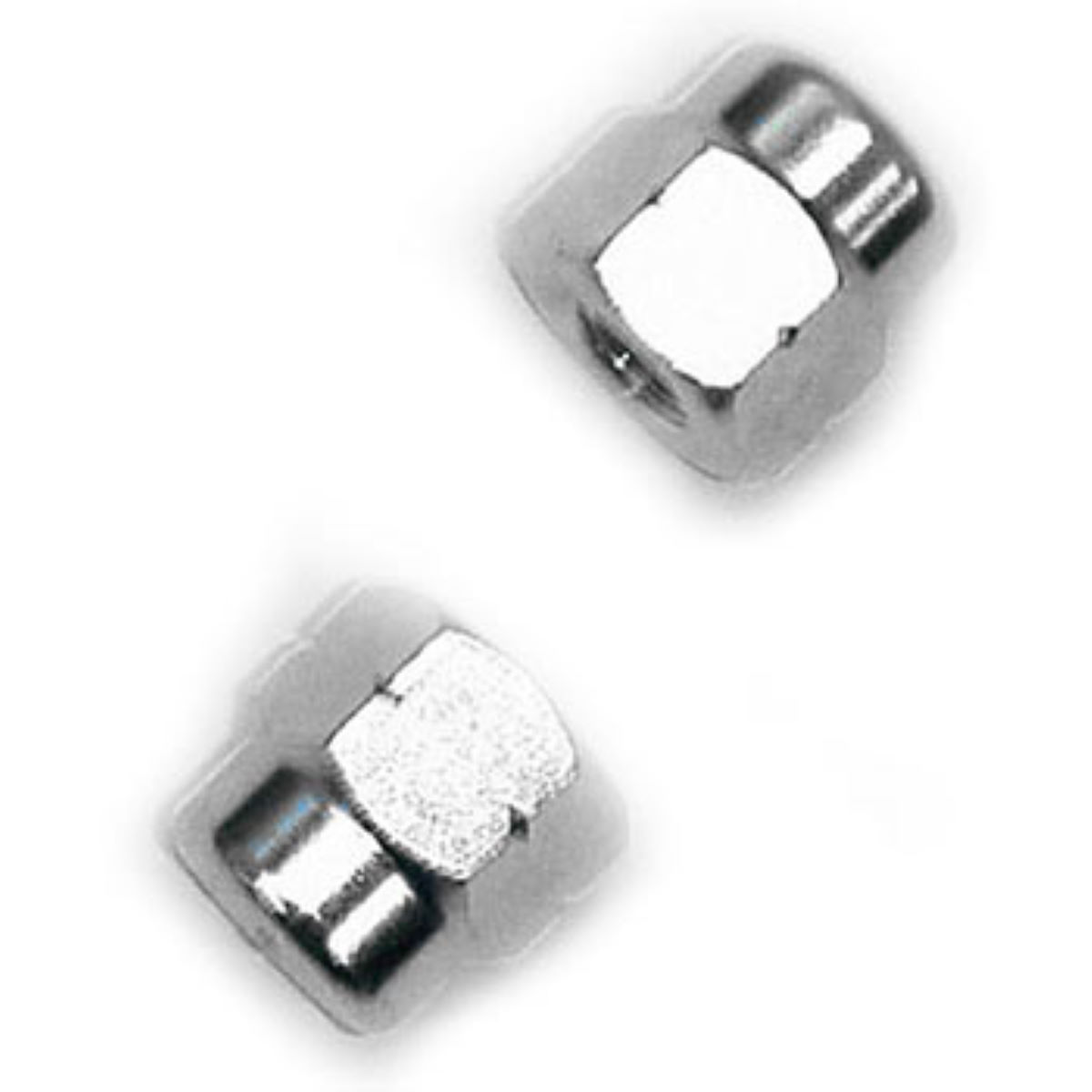 Tacx Axle Nuts (10mm) for Non QR Wheels