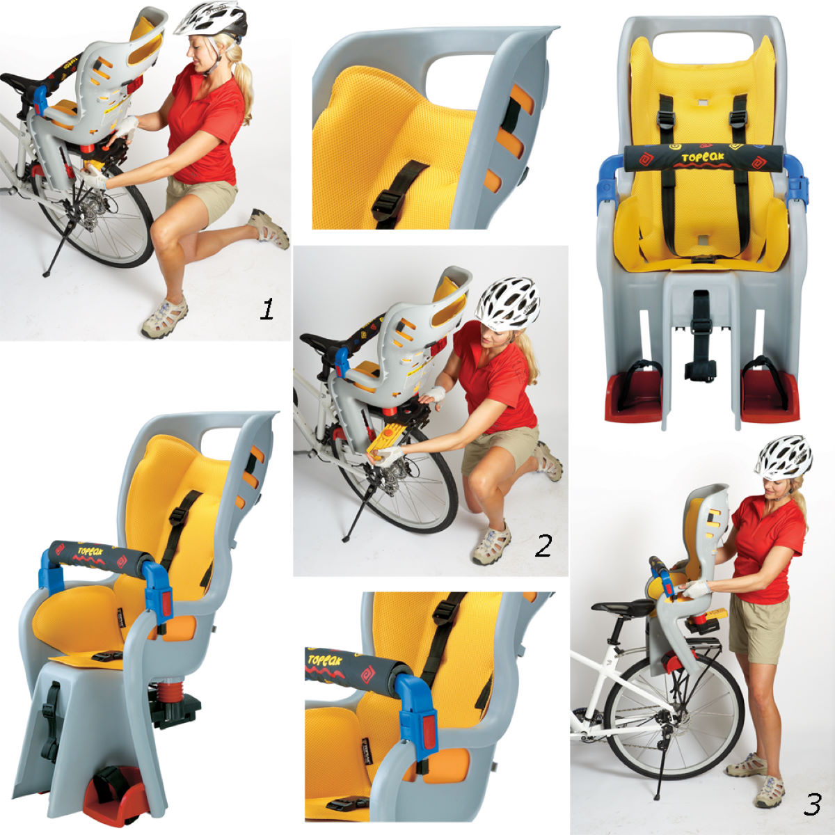 Topeak BabySitter Child Seat with Rack for Disc Brakes