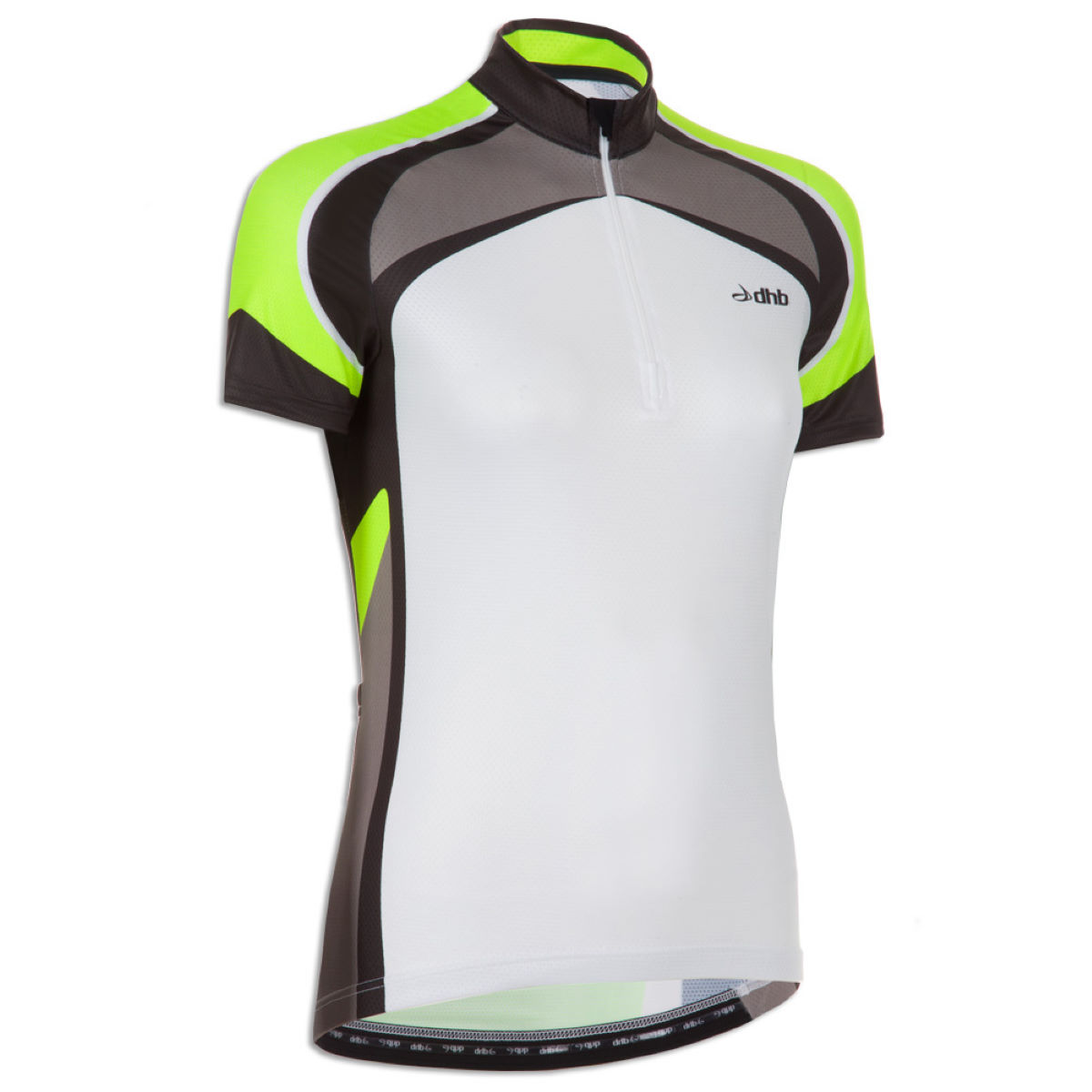 dhb Women's Chase Short Sleeve Fluro Cycling Jersey