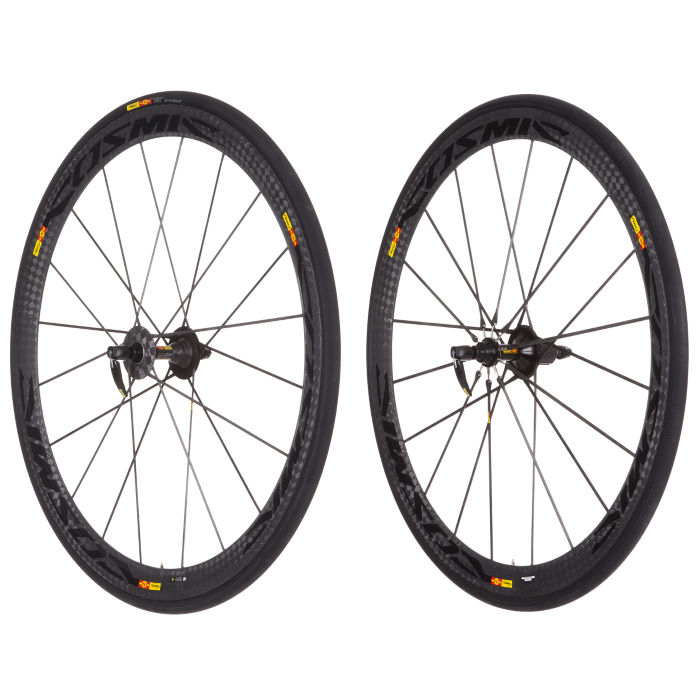 Cosmic Carbon Ultimate Tubular Wheelset 2013