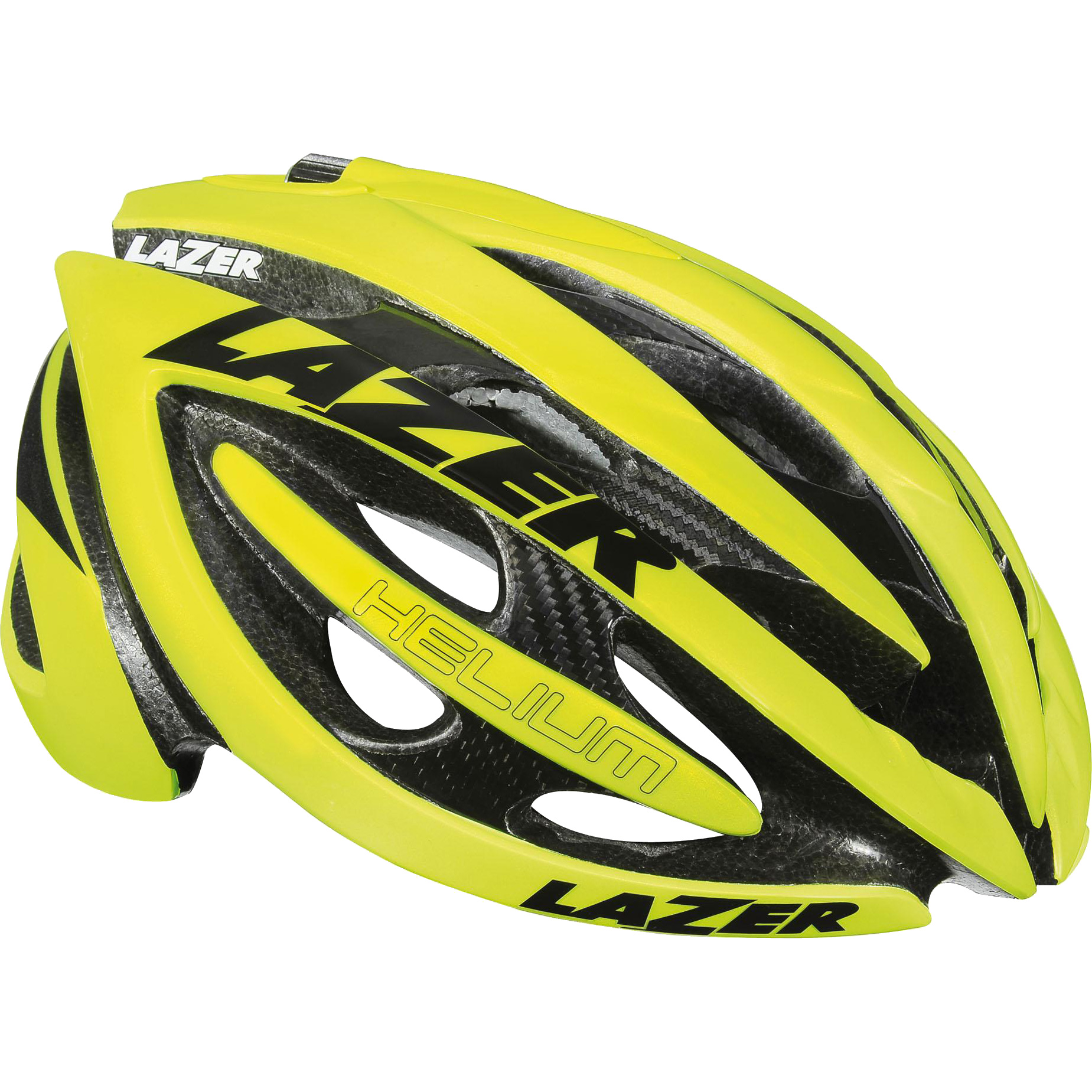 Lazer Helium Road Helmet - High Vis 2013