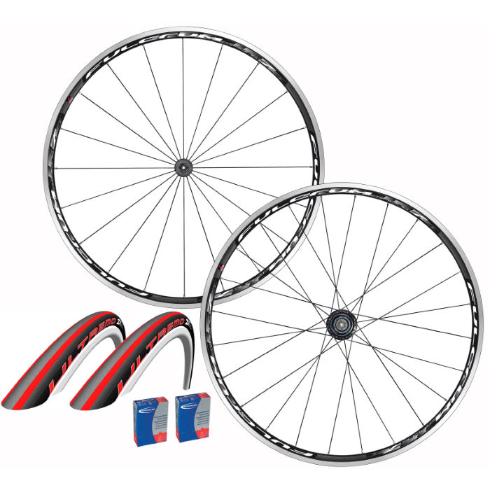 Racing 7 Clincher 2013 Wheel and Tyre set