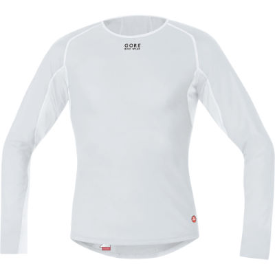 Camiseta interior térmica Gore Bike Wear Base Layer Windstopper Thermo – Extra Large Light Grey/White   Prendas interiores en Wiggle por 72.00 €