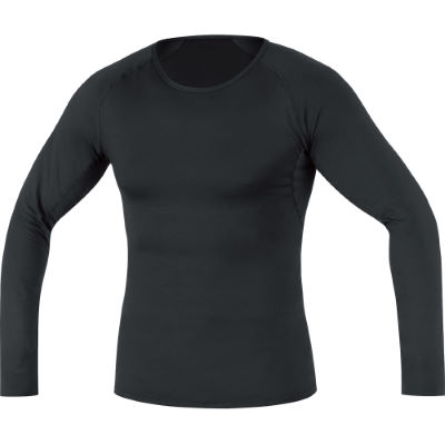 Camiseta interior térmica de manga larga Gore Bike Wear Thermo – Medium Black   Prendas interiores en Wiggle por 47.57 €